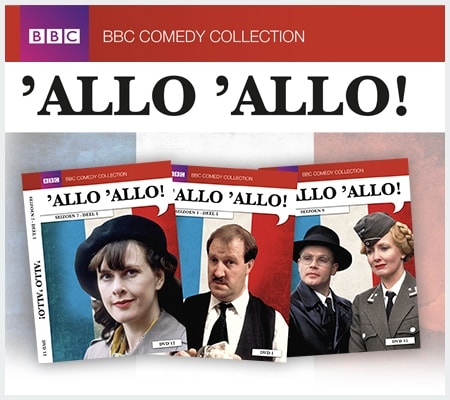Allo Allo DVD Collectie