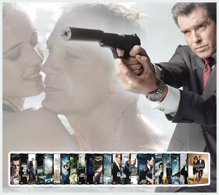 James Bond DVD Collectie
