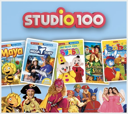 Studio 100 DVD Collectie